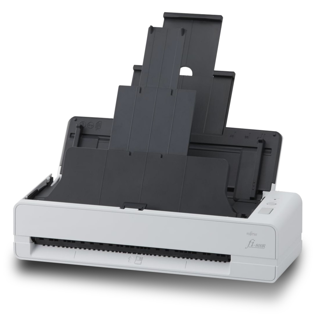 Alstor SDS - Fujitsu fi-800R_lewy_profil_otwarty_podajnik