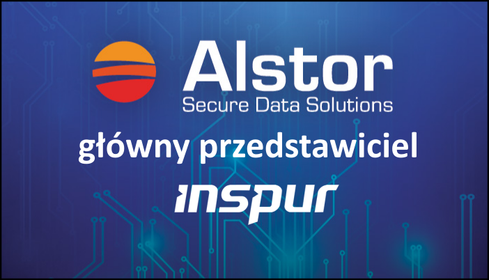 Alstor SDS główny dystrybutor marki Inspur