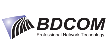 Alstor SDS logo BDCOM z elementem graficznym i napisem Professional Network Technology