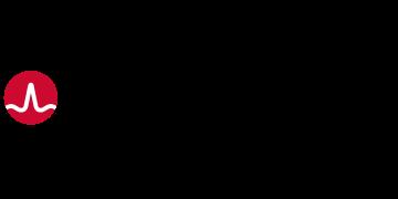 Alstor SDS logo BROADCOM w kolorze czarnym z czerwonym elementem graficznym