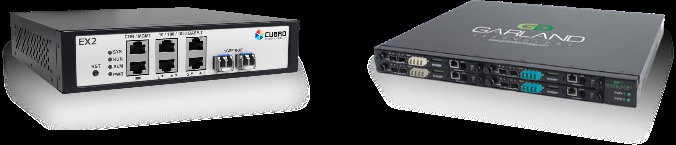 Rozwiązania marek Cubro i Garland Technology