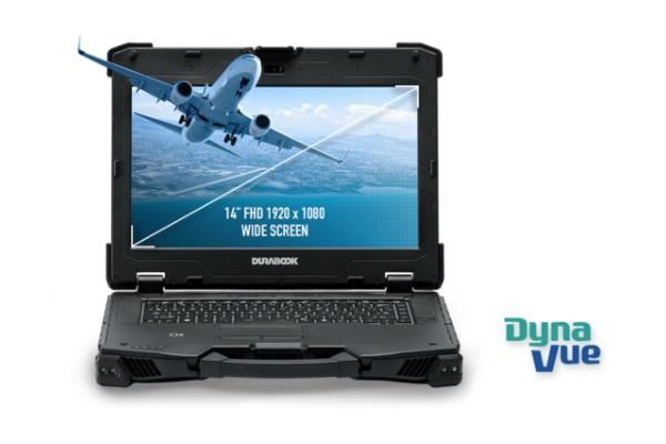 Durabook Z14I - technologia Dyna Vue