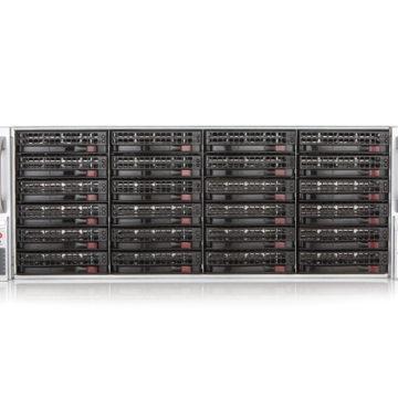 Czarny panel przedni rejestratora pakietów Endace EP 9000 Rejestratory pakietów