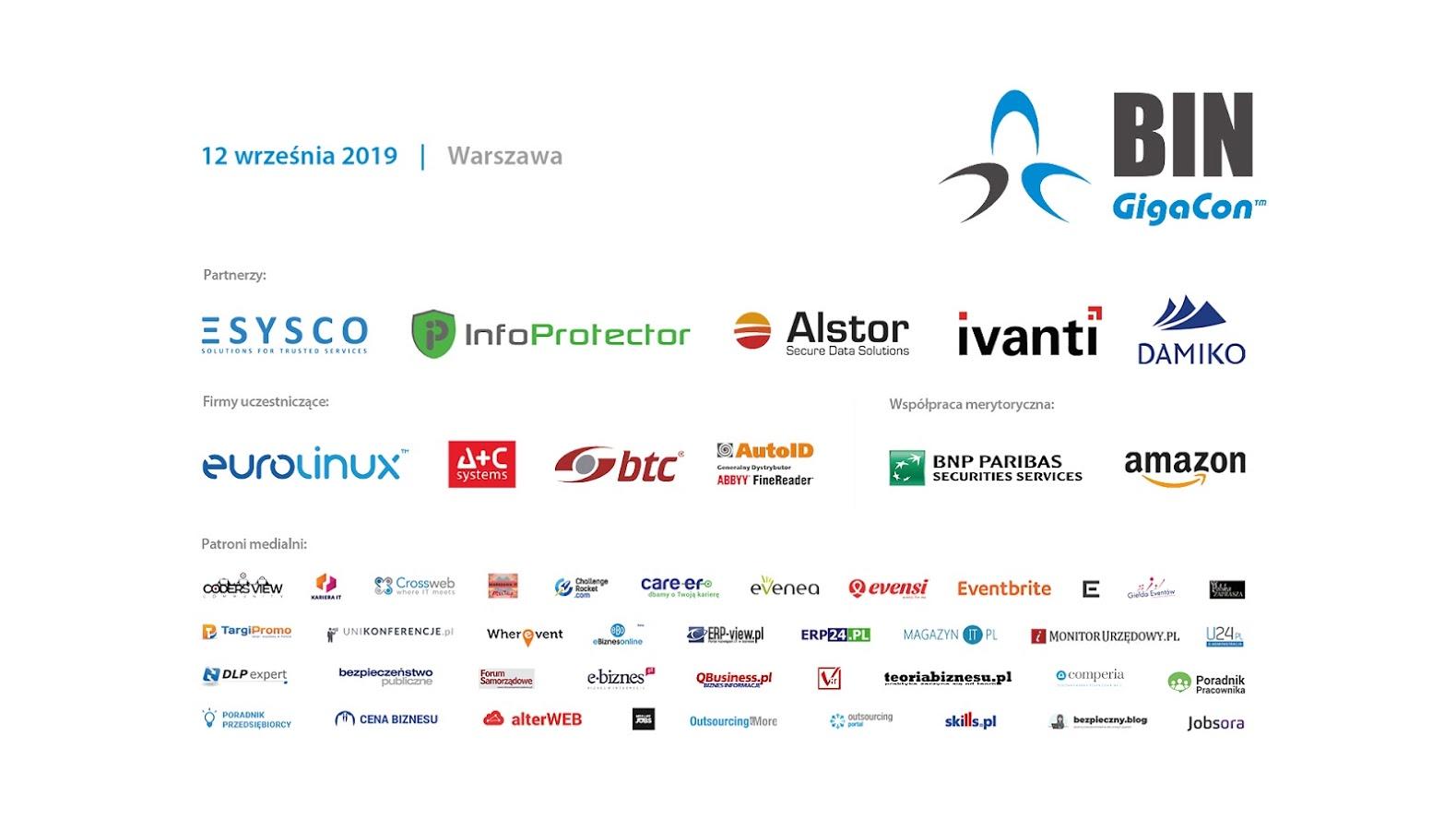 GigaCon 12.09.2019 Bezpieczeństwo i niezawodność systemów IT razem z Alstor SDS i Ivanti (1)