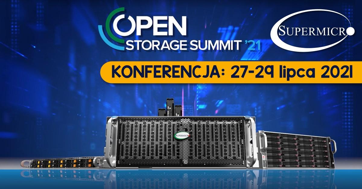 Konferencja z Supermicro - Open Storage Summit 2021