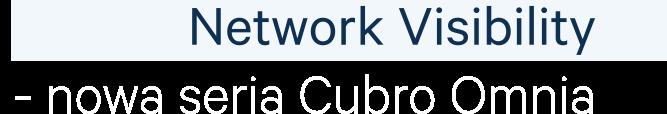 Network Visibility - nowa seria Cubro Omnia