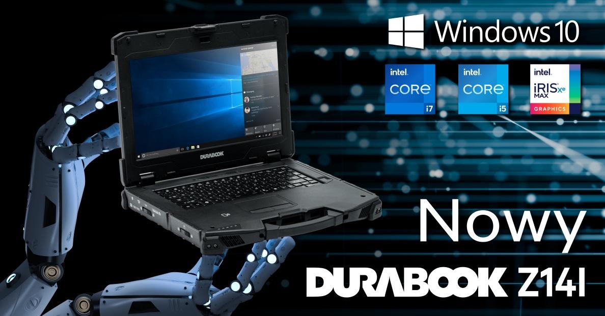 Nowy laprotp Z14I od Durabook – bardziej wytrzymały i zaawansowany technologicznie