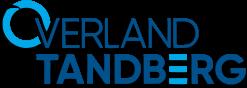 Overland Tandberg kolorowe logo z cieniem