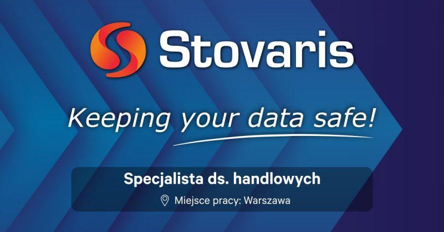 Stovaris - szukamy Specjalisty ds. handlowych oferta