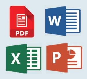 eksport do różnych formatów dokumentów - ScanSnap iX1600