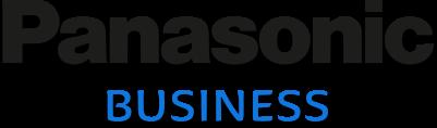 Panasonic Business logo with shadow