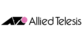 Alstor SDS logo Allied Telesis w kolorze czarnym