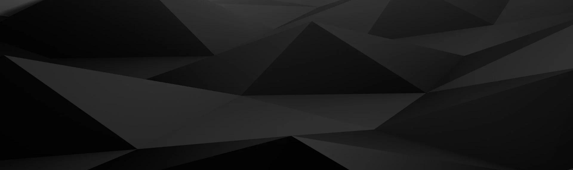 czarne trójkąty - tło Profitap
