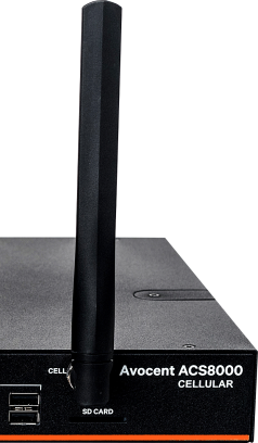 vartiv avocent acs 8000 LTE z jendą anteną