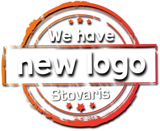we have a new Stovaris logo